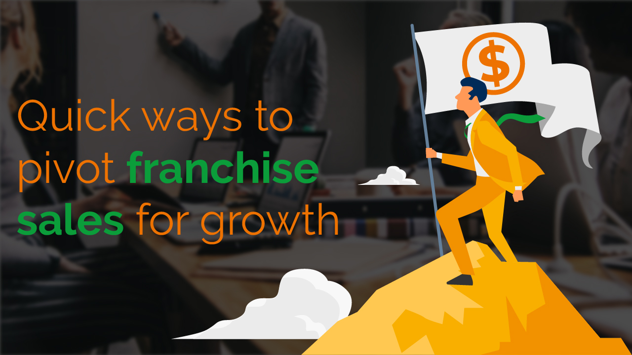 Quick ways to pivot Franchise Sales towards growth