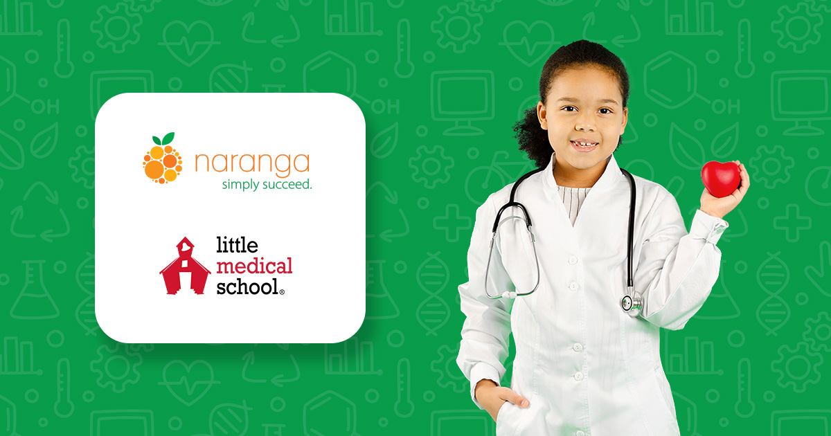 Little Medical School effectively manages reports from franchisees and safely stores proprietary curriculum in one place